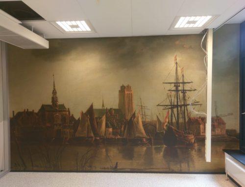 Fotoprints bij de Rechtbank in Dordrecht