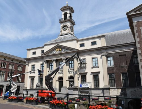 Stadhuis Dordrecht restaureren/schilderen