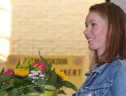 Onze Inge wint eerste en derde prijs tijdens vakwedstrijd voor Schilders van de SCS